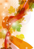 Abstract autumn background. — Stockvektor