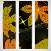 Abstract autumn banner. — Stock Vector