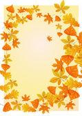 Autumn background. — 图库矢量图片