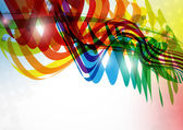 Abstract colorful background. — Stockvektor