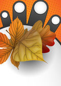 Venda de outono. — Vetorial Stock