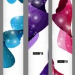 Set of three banners. — Stock Vector #16901483