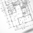 Architectural background. - Stockvectorbeeld