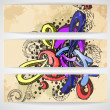 Abstract colored graffiti pattern. - Stock Vector