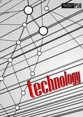 Fondo de tecnología. — Vector de stock