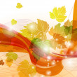Abstract autumn background. — Stock Vector #17375533