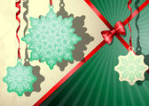изящный рождественский фон. — Cтоковый вектор