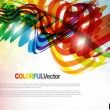 Abstract colorful background. — Vettoriale Stock