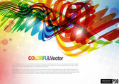 Abstract colorful background. — Stock Vector