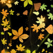 Royalty-Free Stock Vector Image: Abstract autumn background.