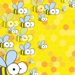 Royalty-Free Stock Vektorgrafik: Bees and honey.