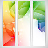 Colorful abstract banner. — Stock Vector