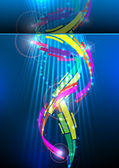 Abstract colorful background. — Cтоковый вектор