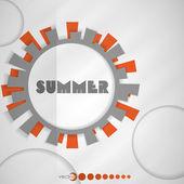 Summer background. — Stock Vector