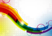 Abstract colorful background. — Vector de stock
