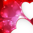 Valentine's day or Wedding background. — Imagen vectorial