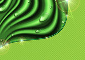 Eco green background. — Vector de stock