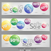 Sale banner. — Stock Vector