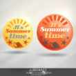 Vector de stock : Summer Time.