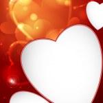 Valentine's Day or Wedding Background. — Stockvector
