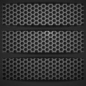 Black Geometric Banner. — Stock Vector