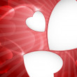 Valentine's Day or Wedding Background. — Vector de stock