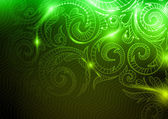 Neon Pattern Background. — Stock Vector