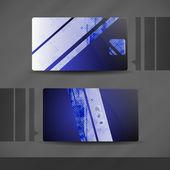 Visitenkarte design. — Stockvektor