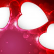 Valentine's day or Wedding background. — Stockvectorbeeld