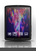Tablet Pc & Mobile Phone. — 图库矢量图片