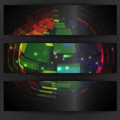 Projekt kolorowy glob. — Wektor stockowy