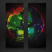 Colorful Globe Design. — Stock Vector