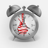 Metal Classic Style Alarm Clock — Stock vektor
