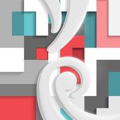 Abstraktní moderní zázemí. — Stock vektor