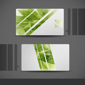 Business card design. — Vettoriale Stock