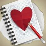 Valentines Day Symbol's. — Stok Vektör