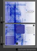 Brochure Template Design. — Stock Vector