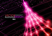 Neon Technology Background. — Vecteur