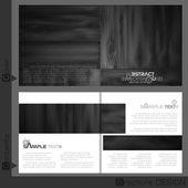 パンフレット テンプレート デザイン. — ストックベクタ