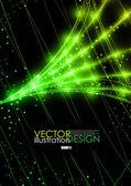 Neon teknolojik altyapı. — Stok Vektör