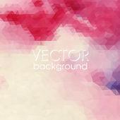 Kleurrijke abstracte achtergrond met driehoeken. — Stockvector