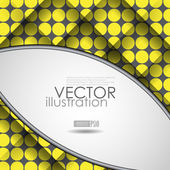 Abstract Geometric Background — Stock Vector