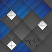 Abstracte 3d geometrische ontwerp — Stockvector