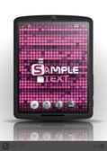 Tablet Computer, Mobile Phone. — Stockvector