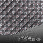 Seamless Grey Gquare Tiles Pattern — Vector de stock