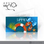 Davetiye kartı tasarımı, şablon — Stok Vektör