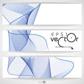 Abstract Waves Design. — Stock Vector