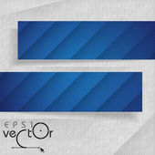 Abstract Banners With Place For Your Text — 图库矢量图片
