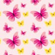 Royalty-Free Stock Vector Image: Seamless pattern with butterflies.