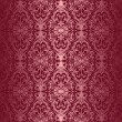 Royalty-Free Stock Vector Image: Elegant claret seamless wallpaper.